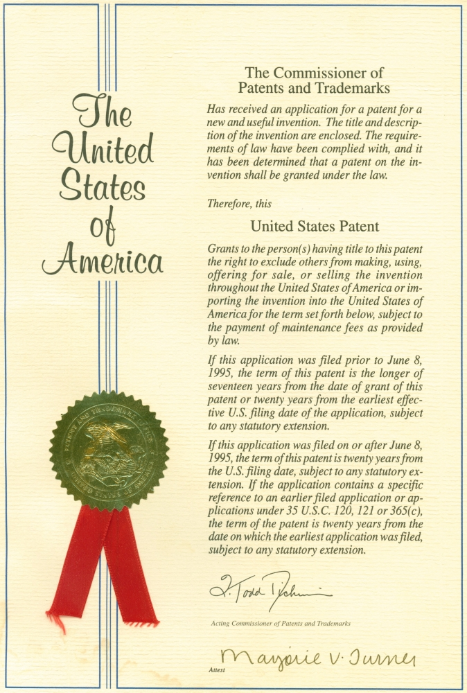 US Patent
